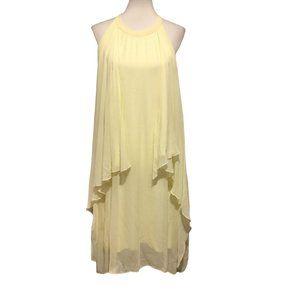 Lauren Vidal Yellow Shift Dress – XS - NWT